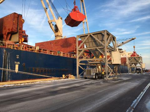 The unexpected shipload of salt that helped clear Charleston area roads