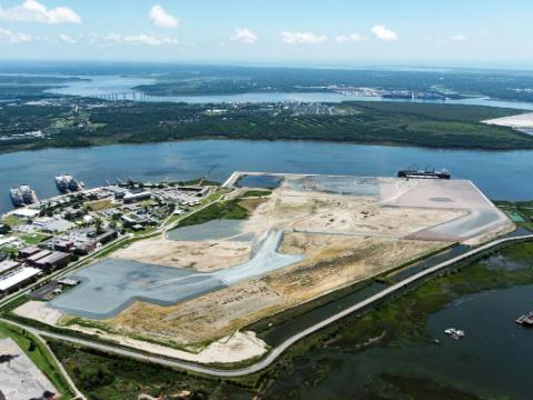 Work at Charleston's new port terminal set to shift to construction phase