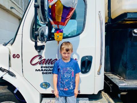 Happy 8th Birthday Sam!